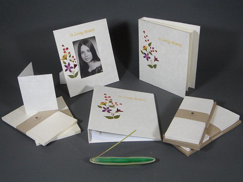 Floral Memorial Set
