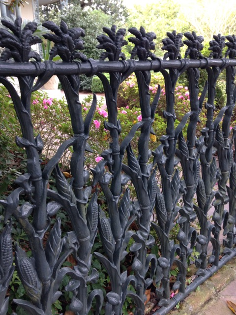 Cornstalk Fence, Garden District