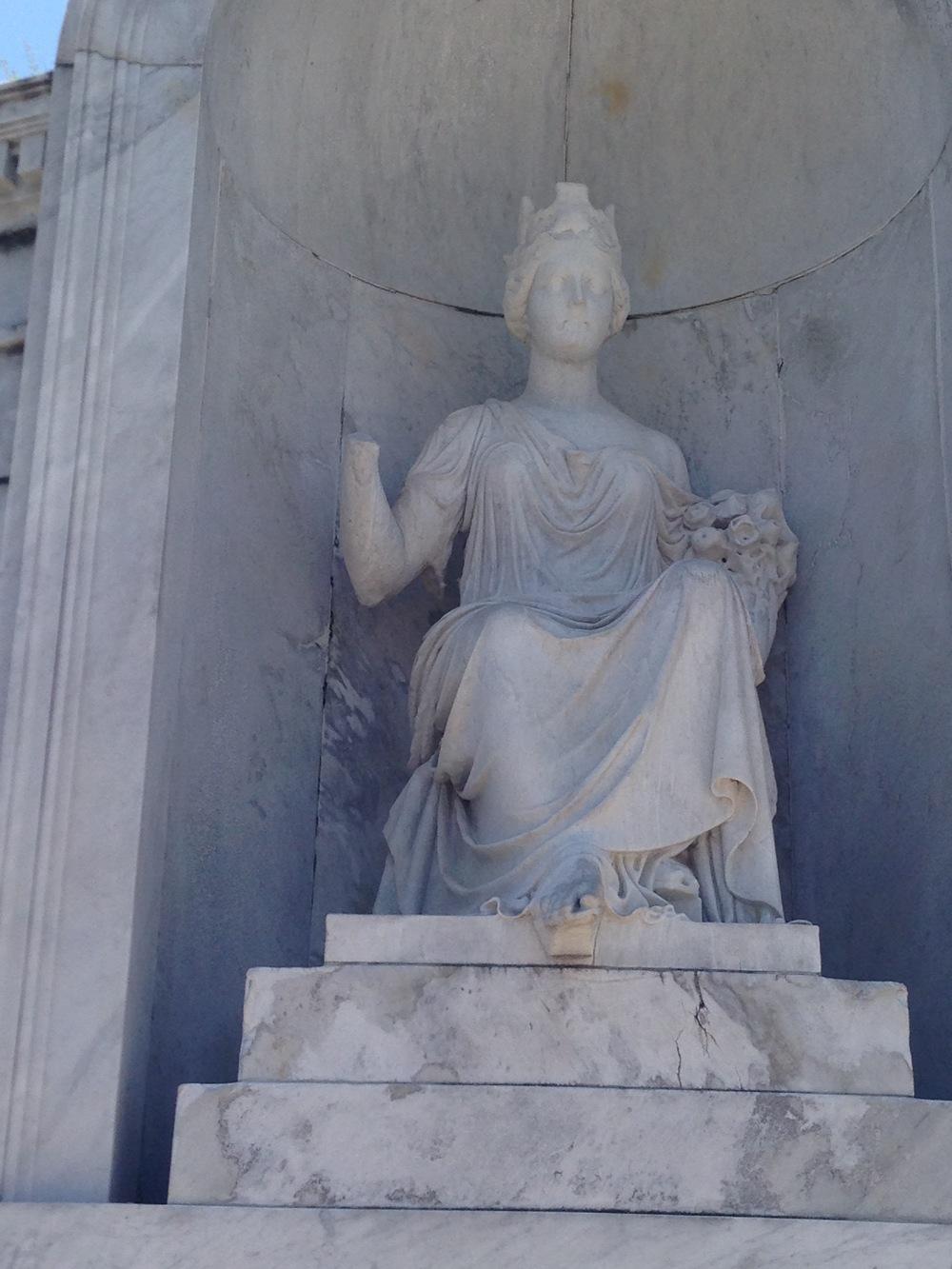 Italian Society Statue, St. Louis #1