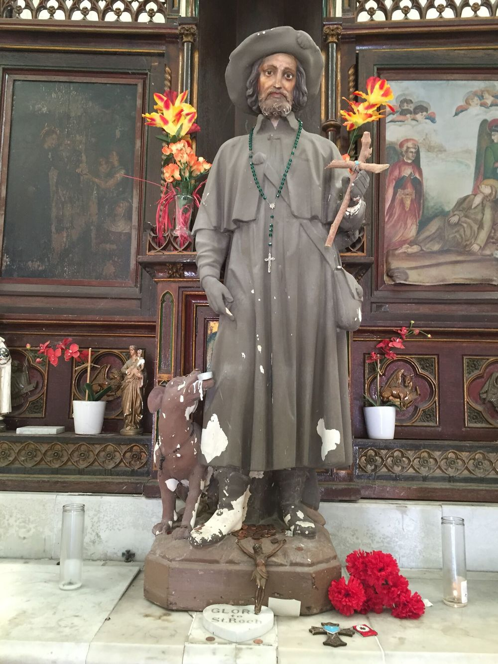 St. Roch and Dog, St. Roch Cemetery