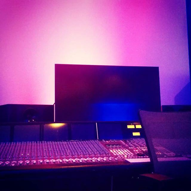 Studio B looking cozy.  #kmglife #studio #musicproduction #mixing #musicstudio