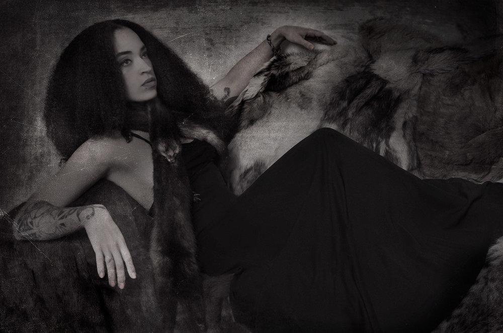 Kay Elizabeth Front singer Black Orchids