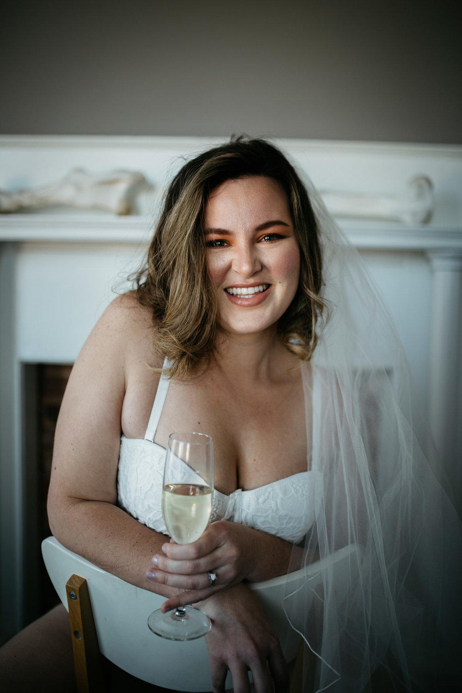 bridal boudoir session atlanta