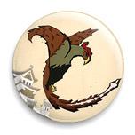 Momotaro • Pheasant Button