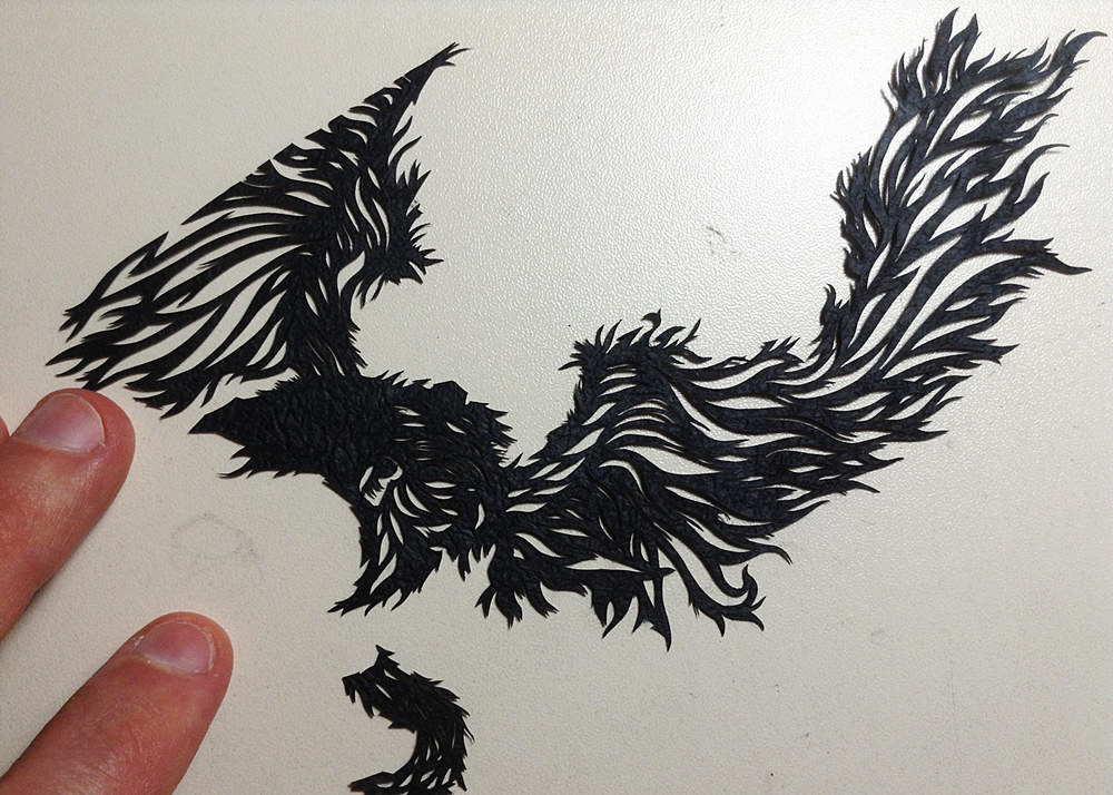 Upon Black Wings, A Howling Wind - WIP