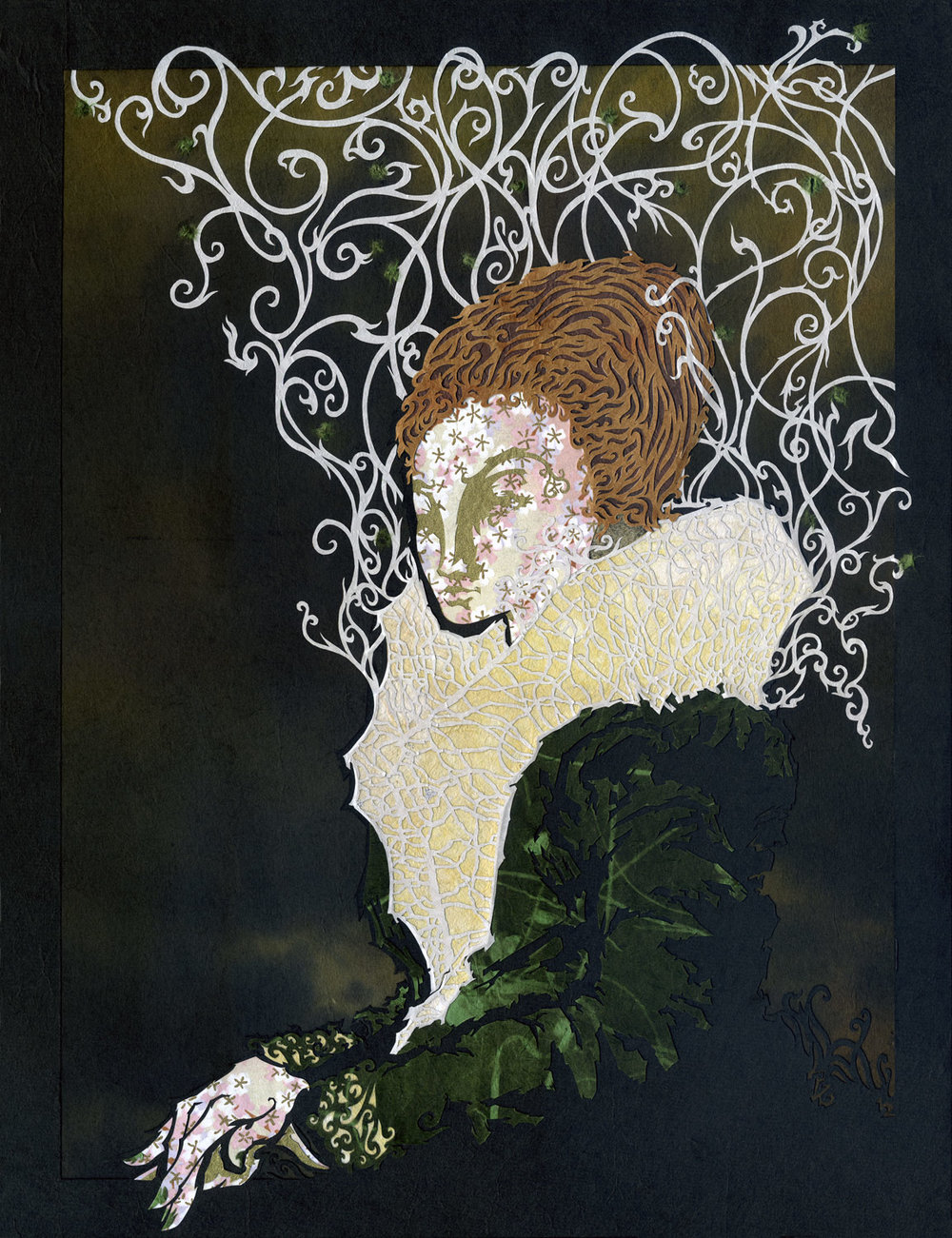 Portrait of Lady in Green