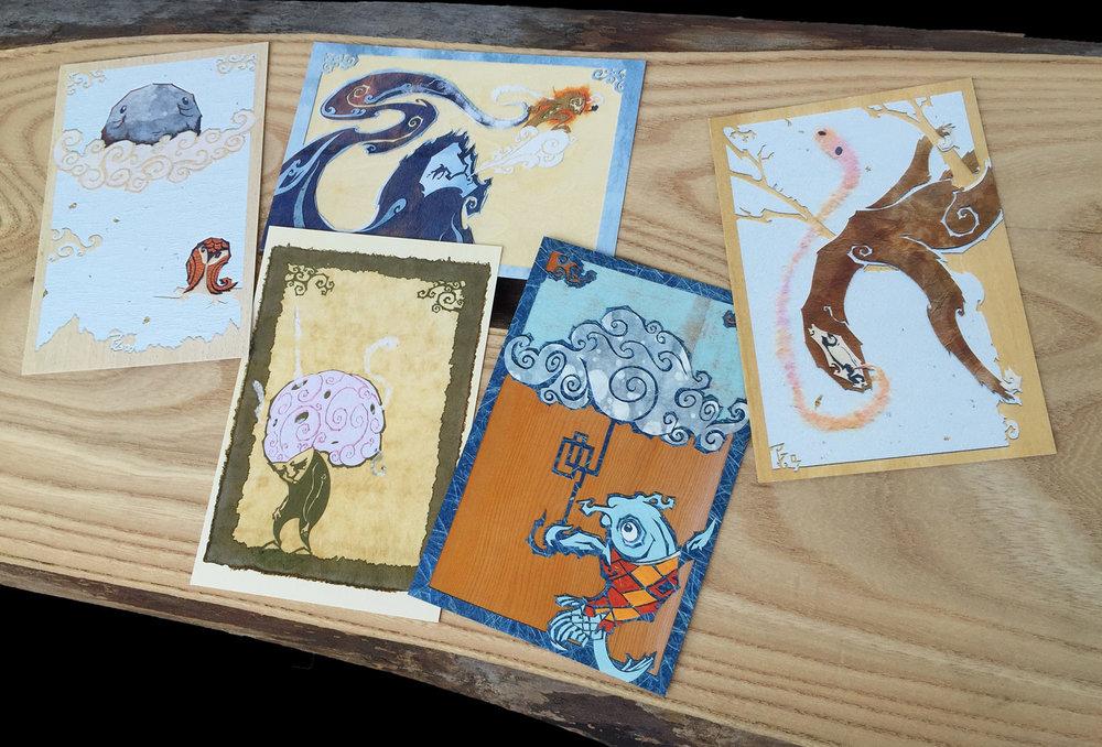 Postcard Pack 1 -