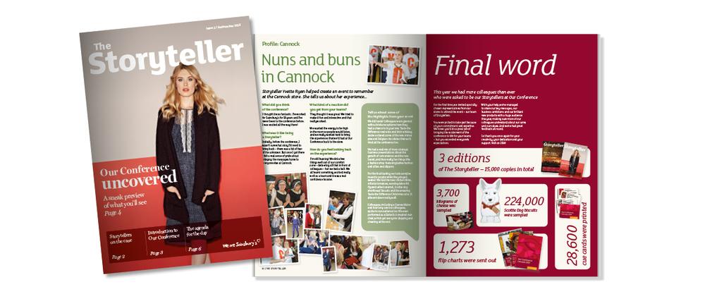 Sainsbury's storyteller magazine