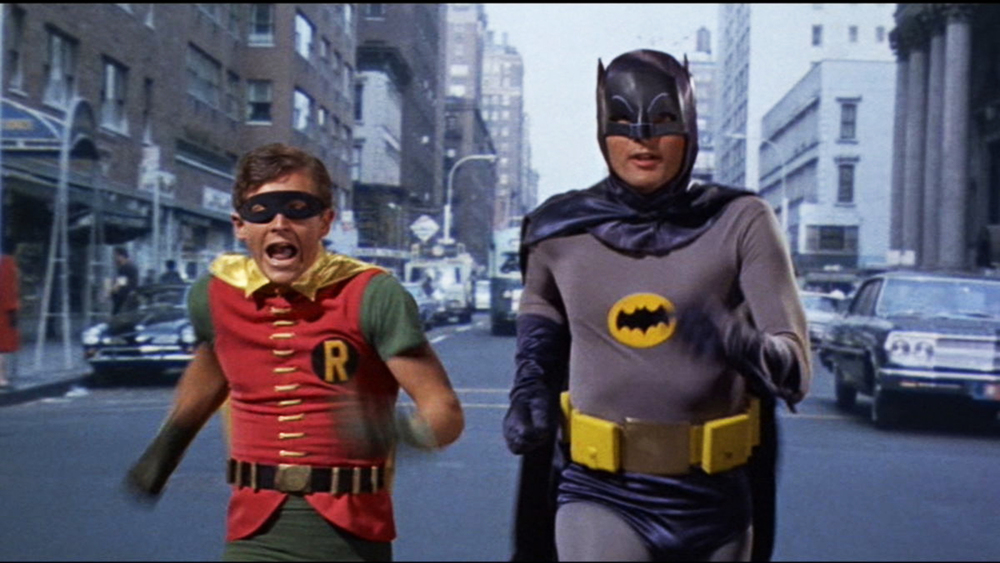 Yes, it's silly. Yes, it's campy, but by jove - it's fantastic! Batman 66 is bright, bold and unabashedly fun. While SUPERZEROES will be more sophisticated from a storytelling and character perspective, we still want it to be bright, colorful and full of spandex costumes. It also goes to show how versatile a character BATMAN is, which is something we want to instill into the characters of SUPERZEROES.