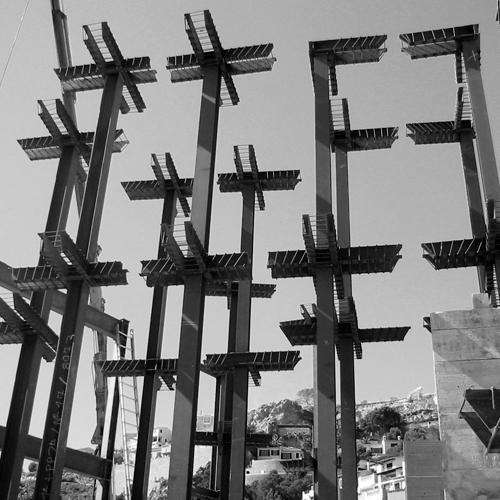 Soportes metálicos para estructura de edificio