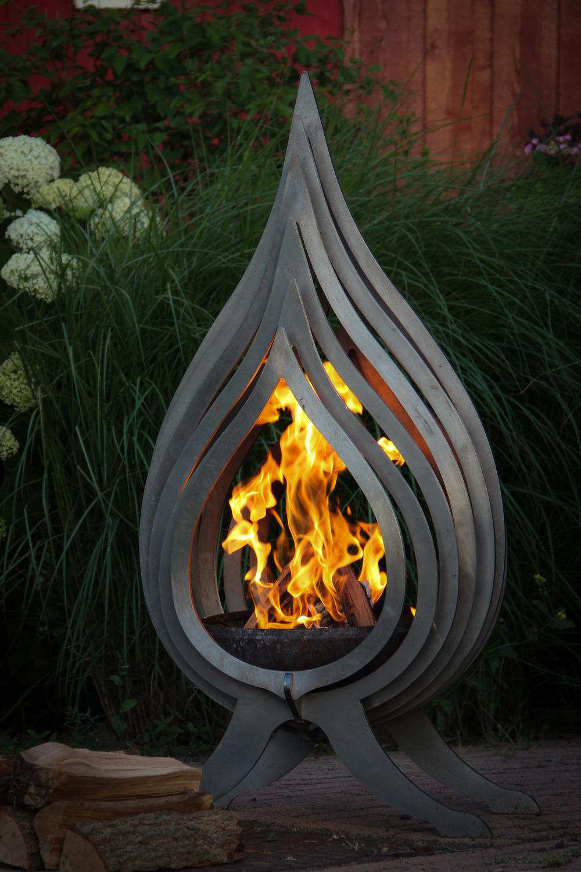 vlam vuurkorf