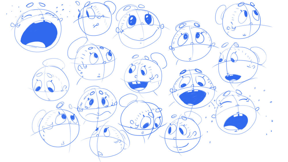 Krishna Expression Sheet