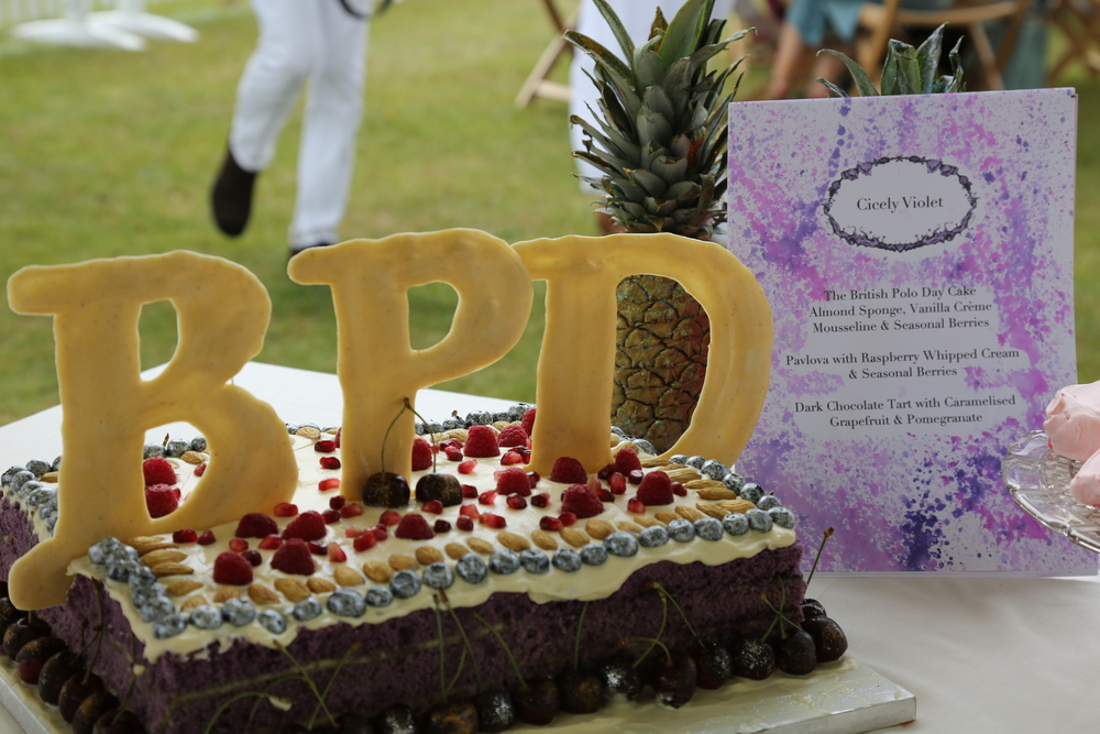 Almond & Vanilla with Berries for British Polo Day: photo by Sam Churchill