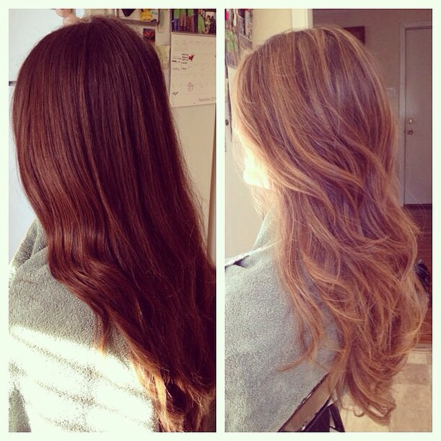 Balayage done by Dana Nolan #balayage #hair painting
