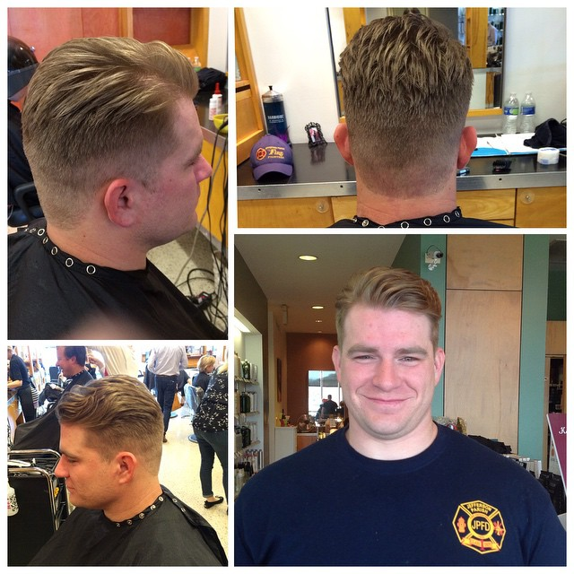 Men's cut by @kelly_williams