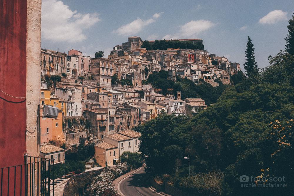 Ragusa Ibla from Ragusa Superiore