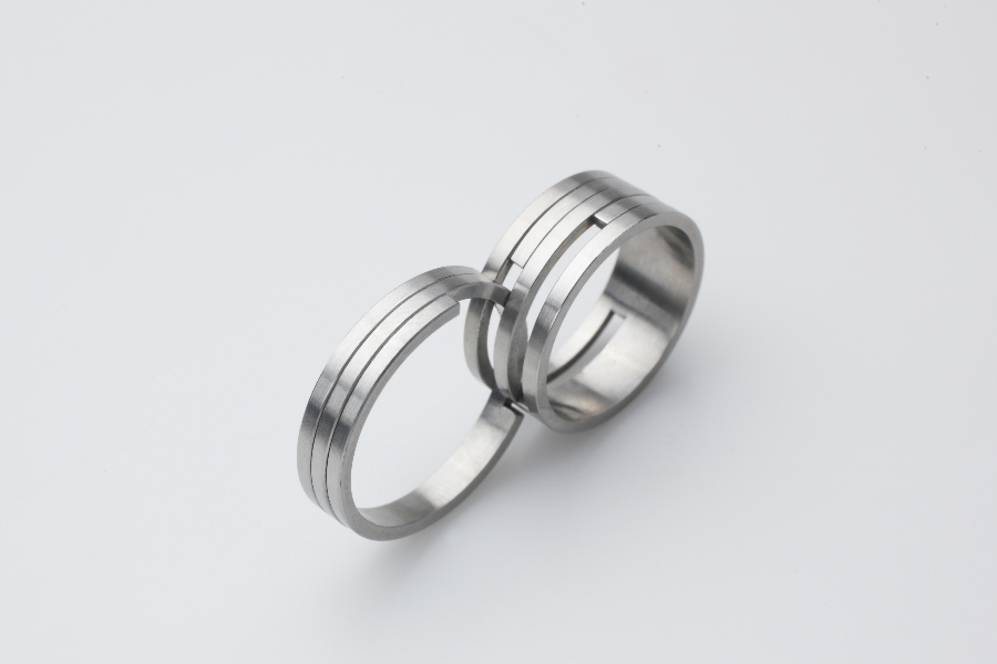Symbolism Of Belonging Expressed By Two Rings That Fit Together Can Be Also Found With Klara Sipkova In Contrast To 27 JEWELRY Her Shapes Are Clean And