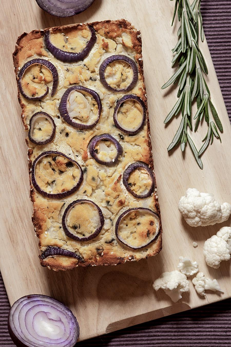 Cauliflower bread loaf | Lau Sunday cooks