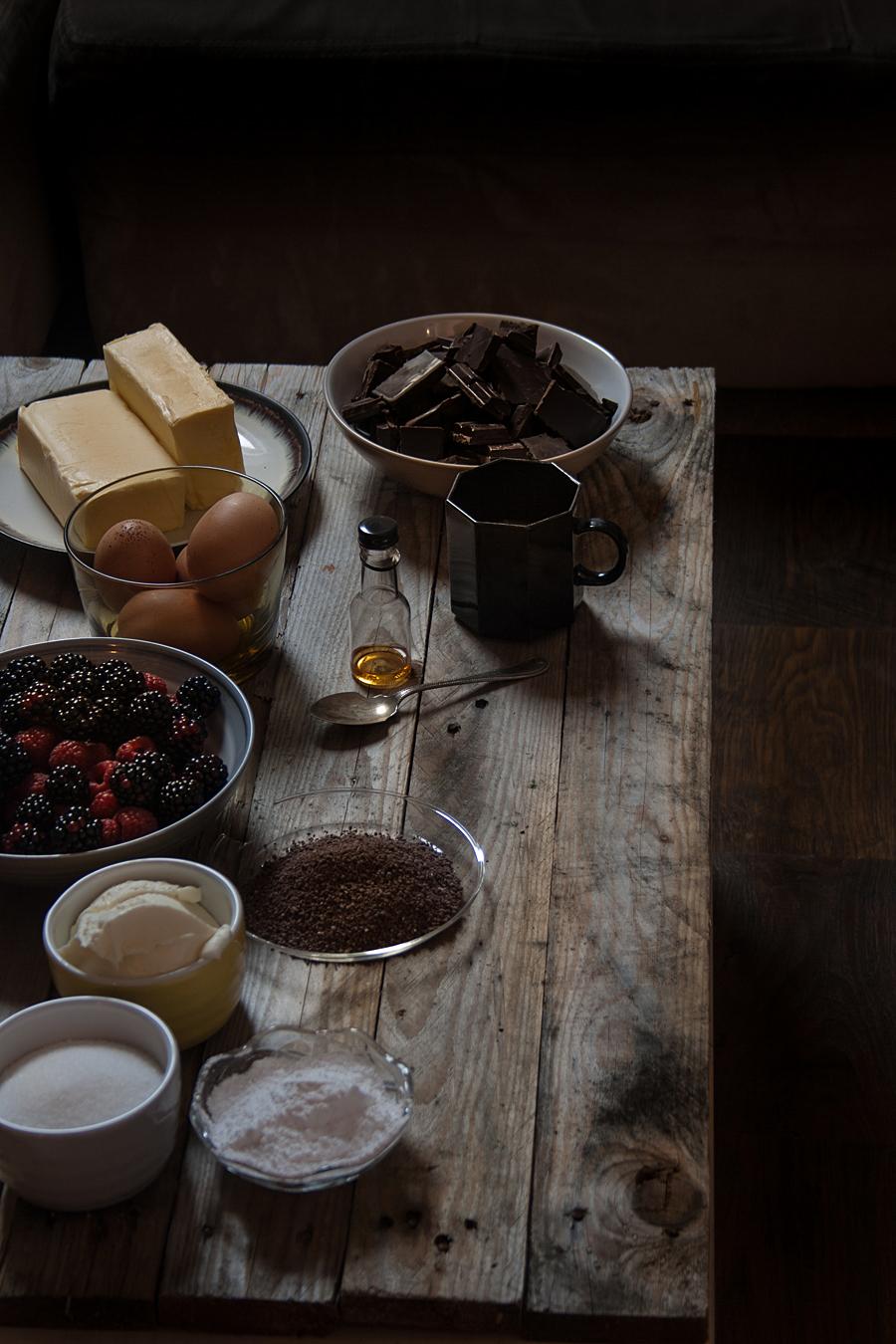 Christmas chocolate berries cake | Lau Sunday cooks