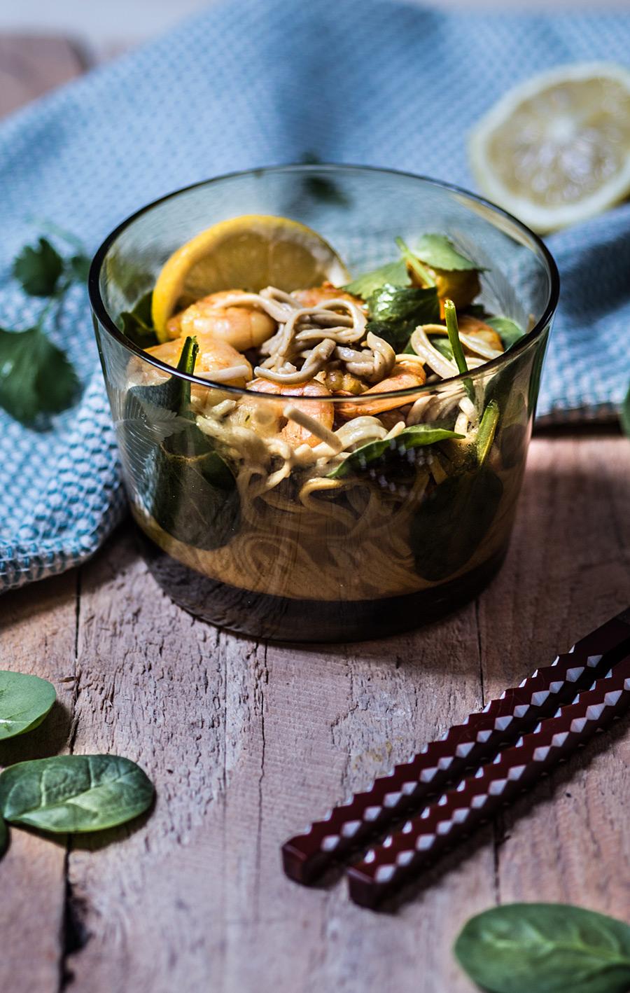 Curry prawns noodles | Lau Sunday cooks