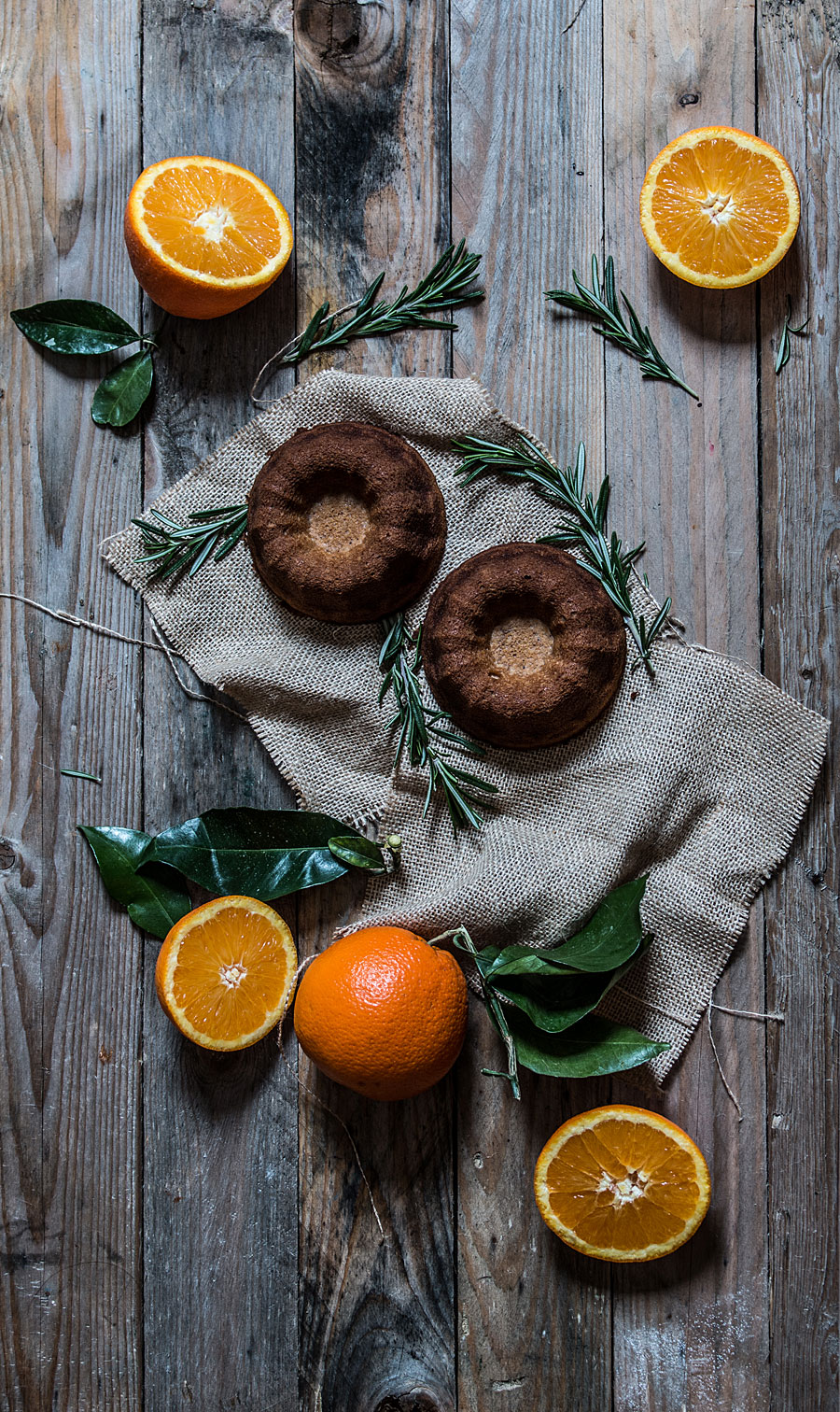 Sweet potato bundt cake with orange glaze and rosemary | Lau Sunday cooks
