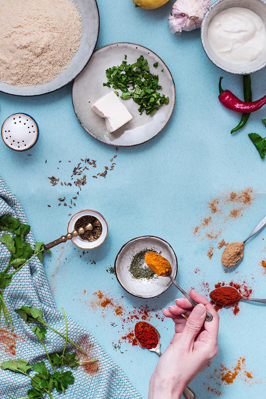 Vegan Tandoori balls | Lau Sunday cooks