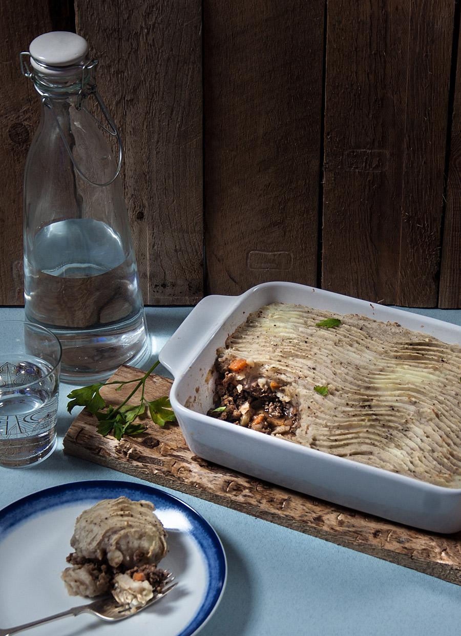 Cottage pie with a Mediterranean twistrecipe