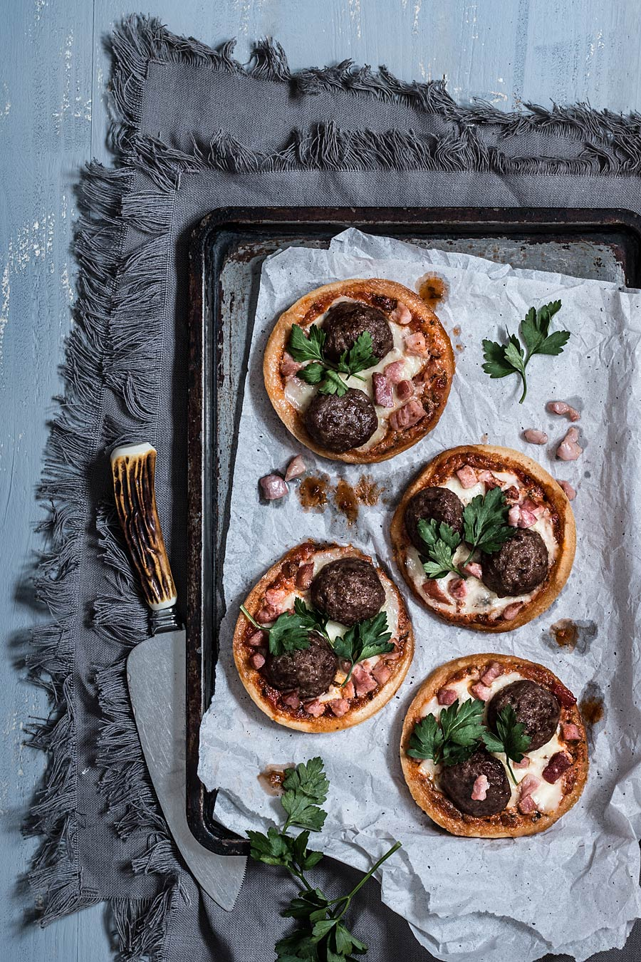 The Ultimate Comfort Food dish: Gluten free meatballs pizzas | Lau Sunday cooks