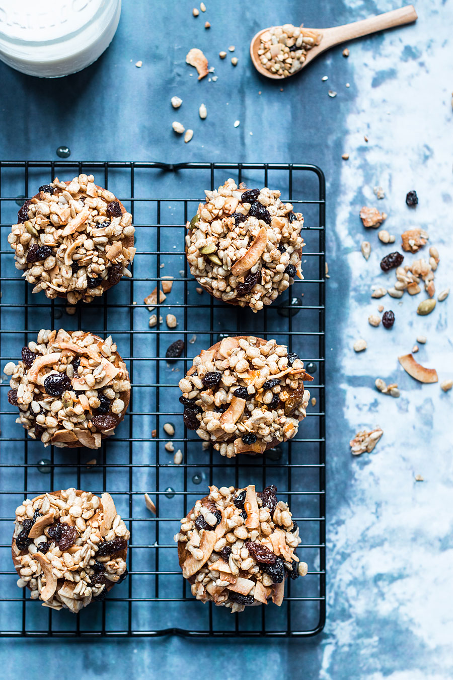 Gluten free granola muffins | Laura Domingo