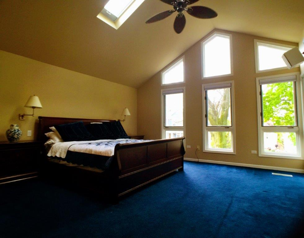 The old master bedroom.