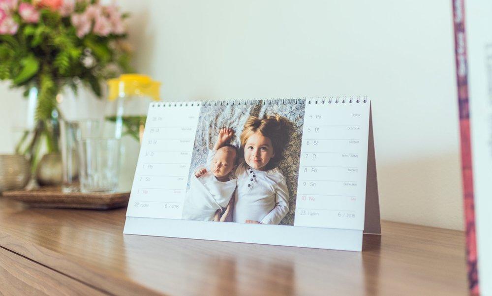 stolní fotokalendář bontia