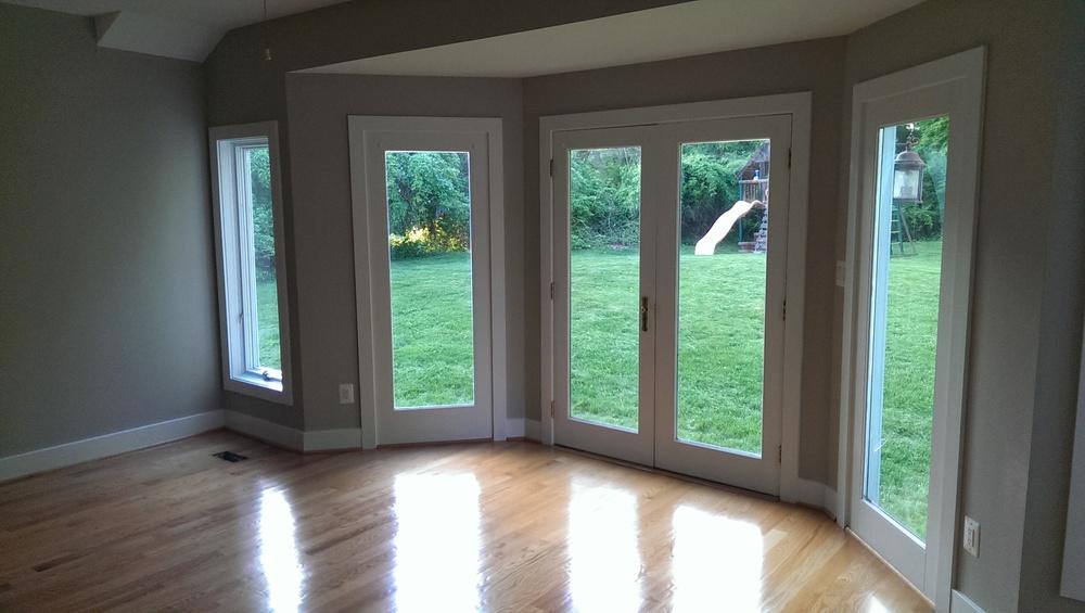 We locate all window and door openings including door heights, floor to window sill and window heights.