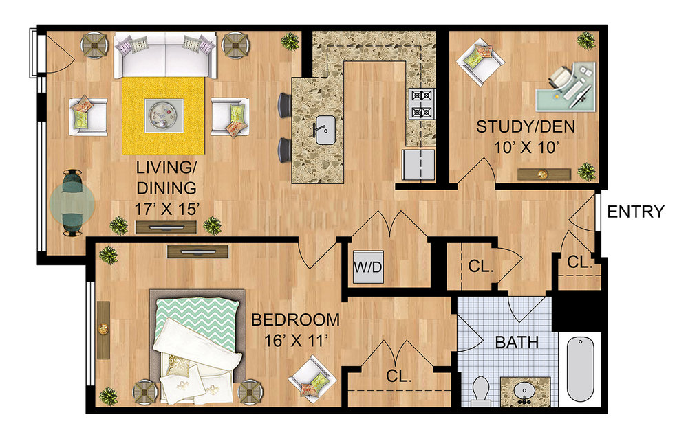 Need Floor Plans?   We Provide Black & White and Rendered Floor Plans