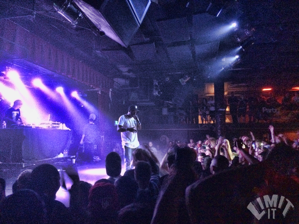 Hopsin to a packed crowd