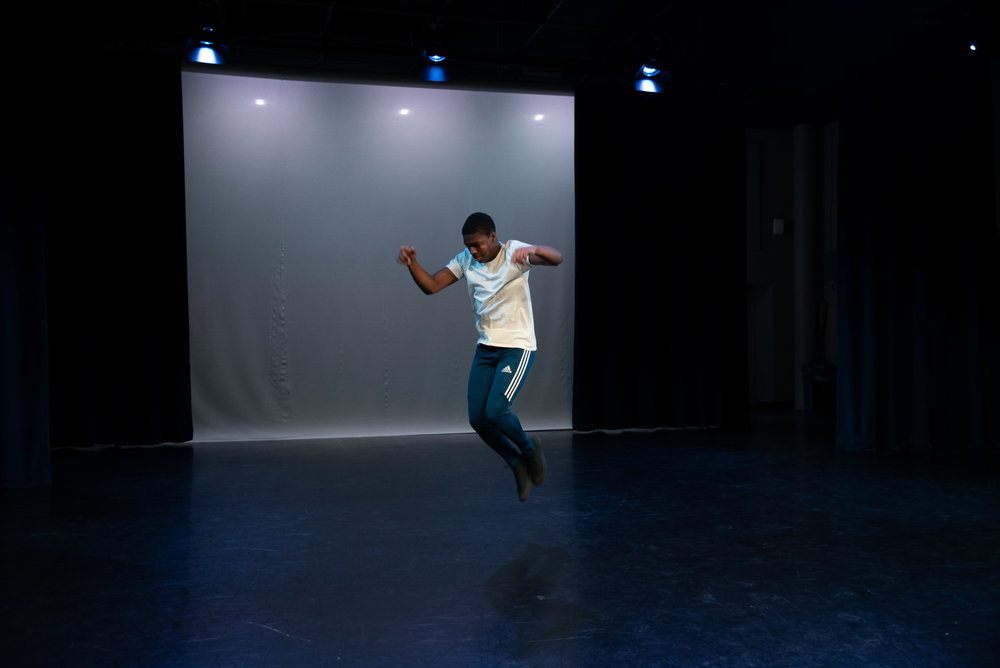 Paths Cross/Doors Open Choreographer Quashierra Muhammad