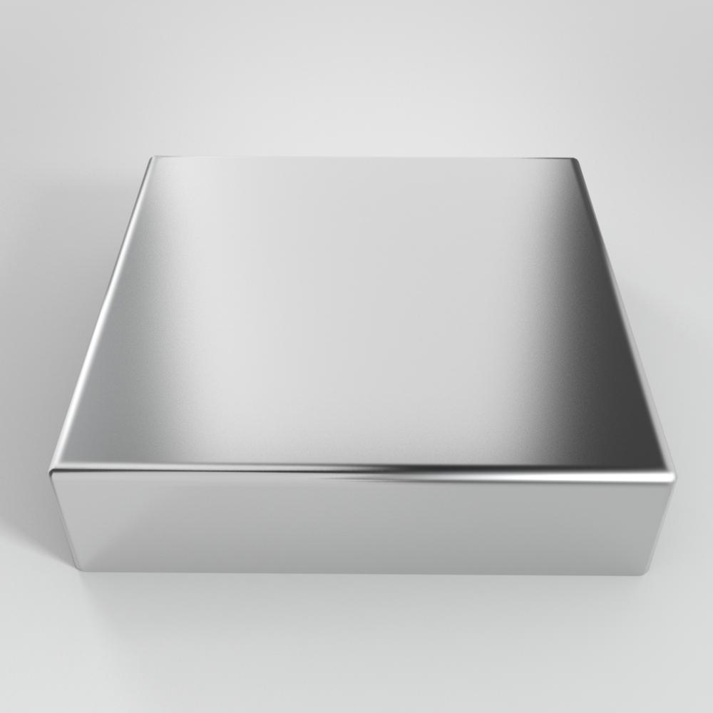 Aluminum square piling cap — willy s metal caps