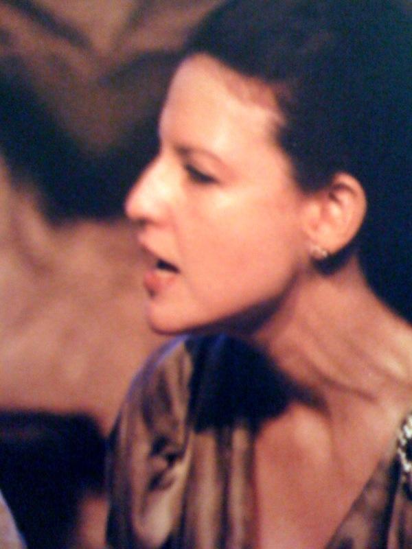 Como Cassandra, em Hecuba.    (Foto: Raquel Alvarez