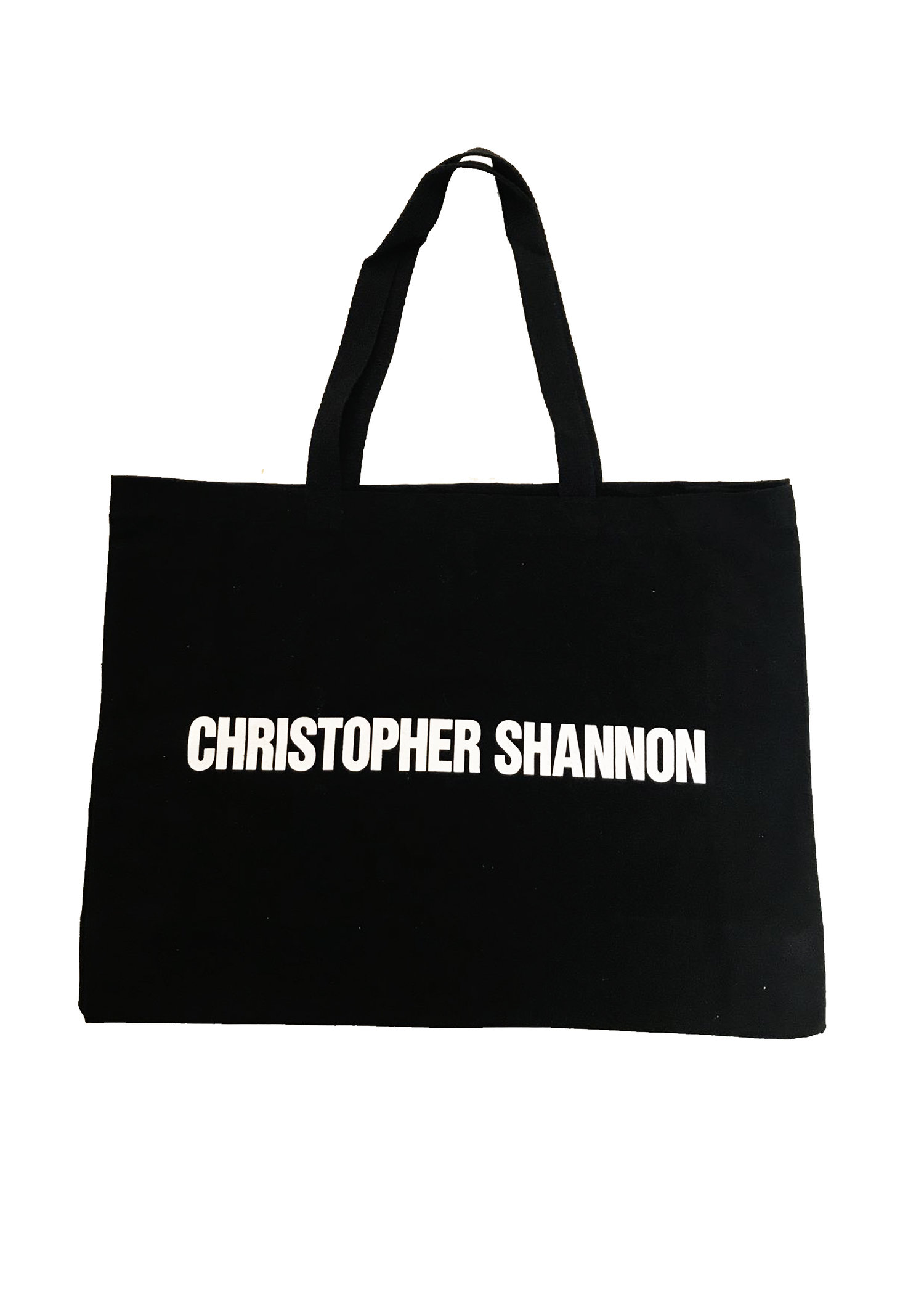CHRISTOPHER SHANNON LARGE BLACK TOTE