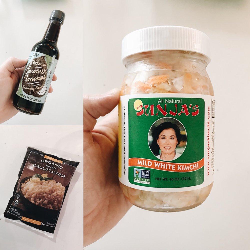 Cauliflower & Kimchi Probiotics