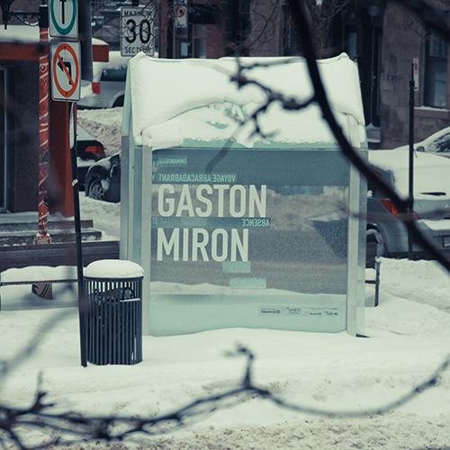 Hommage à Gaston Miron