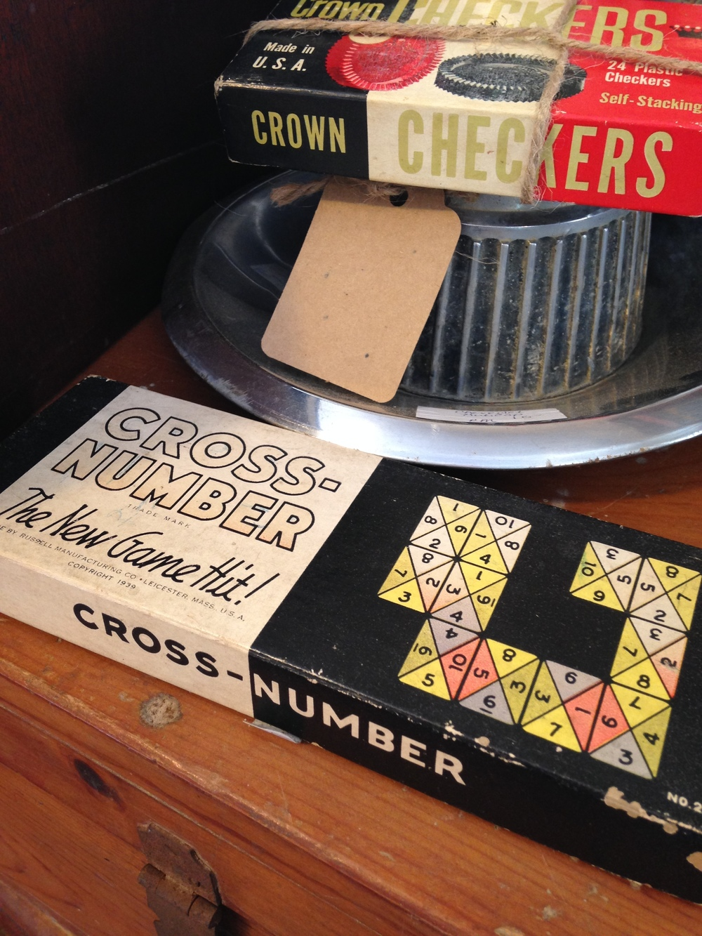 Antique shops are chock full of fun lettering, color schemes, etc.