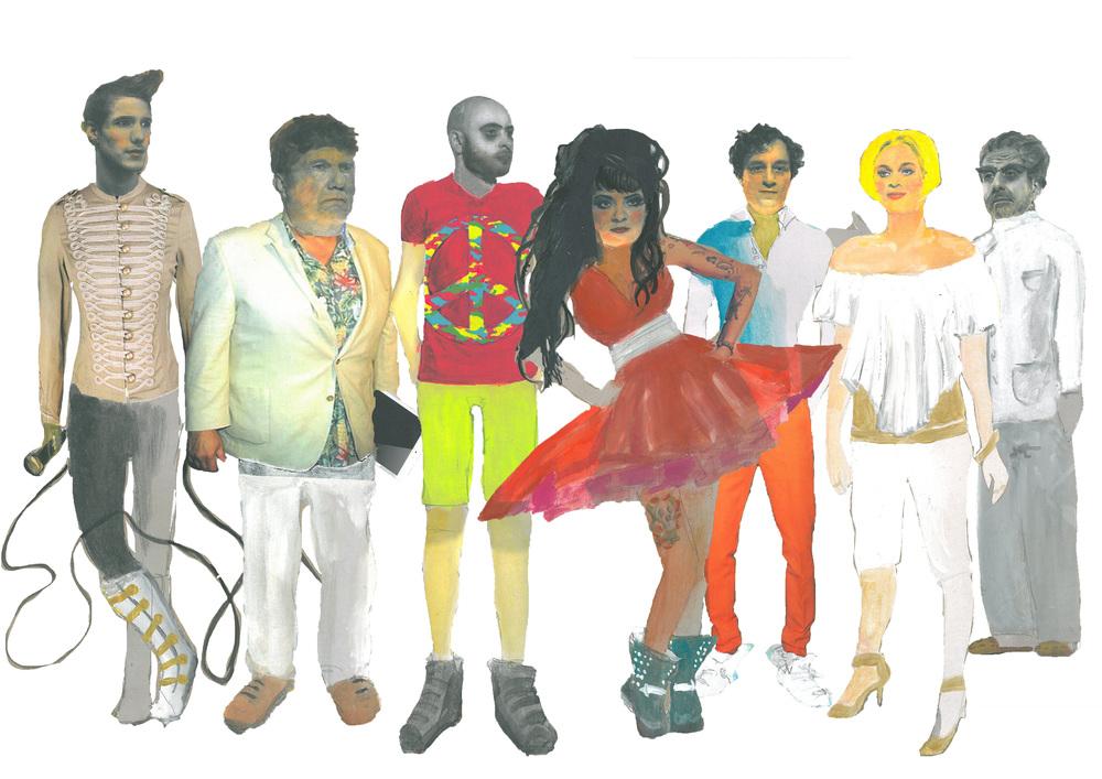 Woyzeck - Ensemble Kostüme