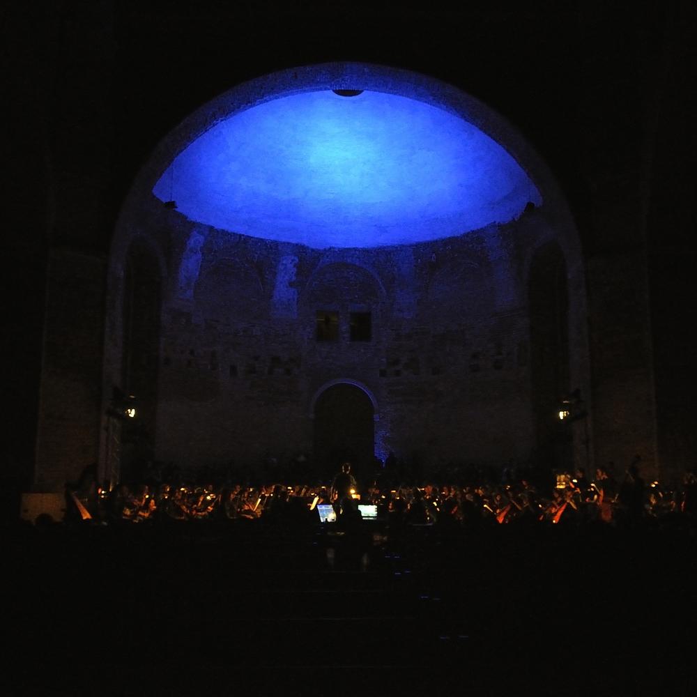 Tosca - dramaturgisches Lichtkonzept