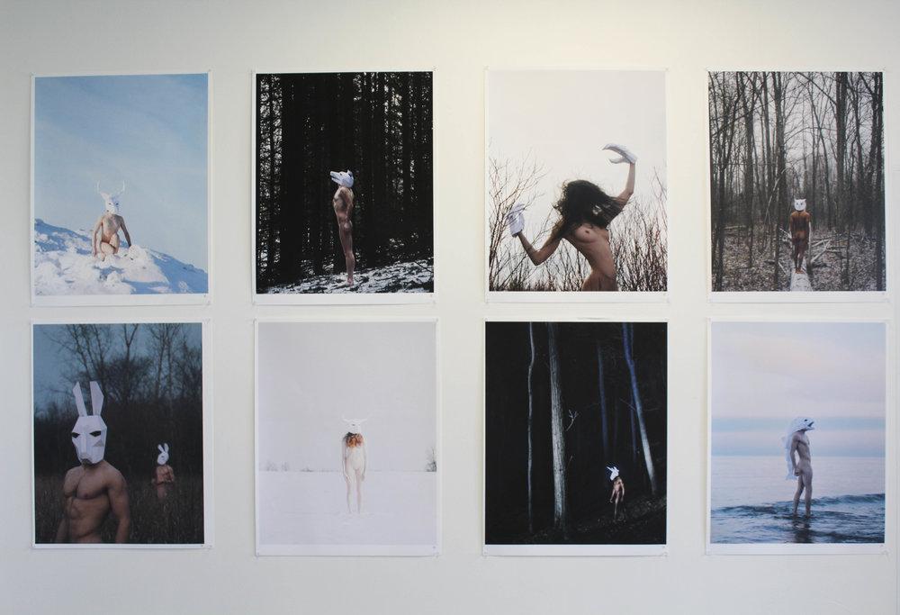 'les bêtes' by Isaac Aoki