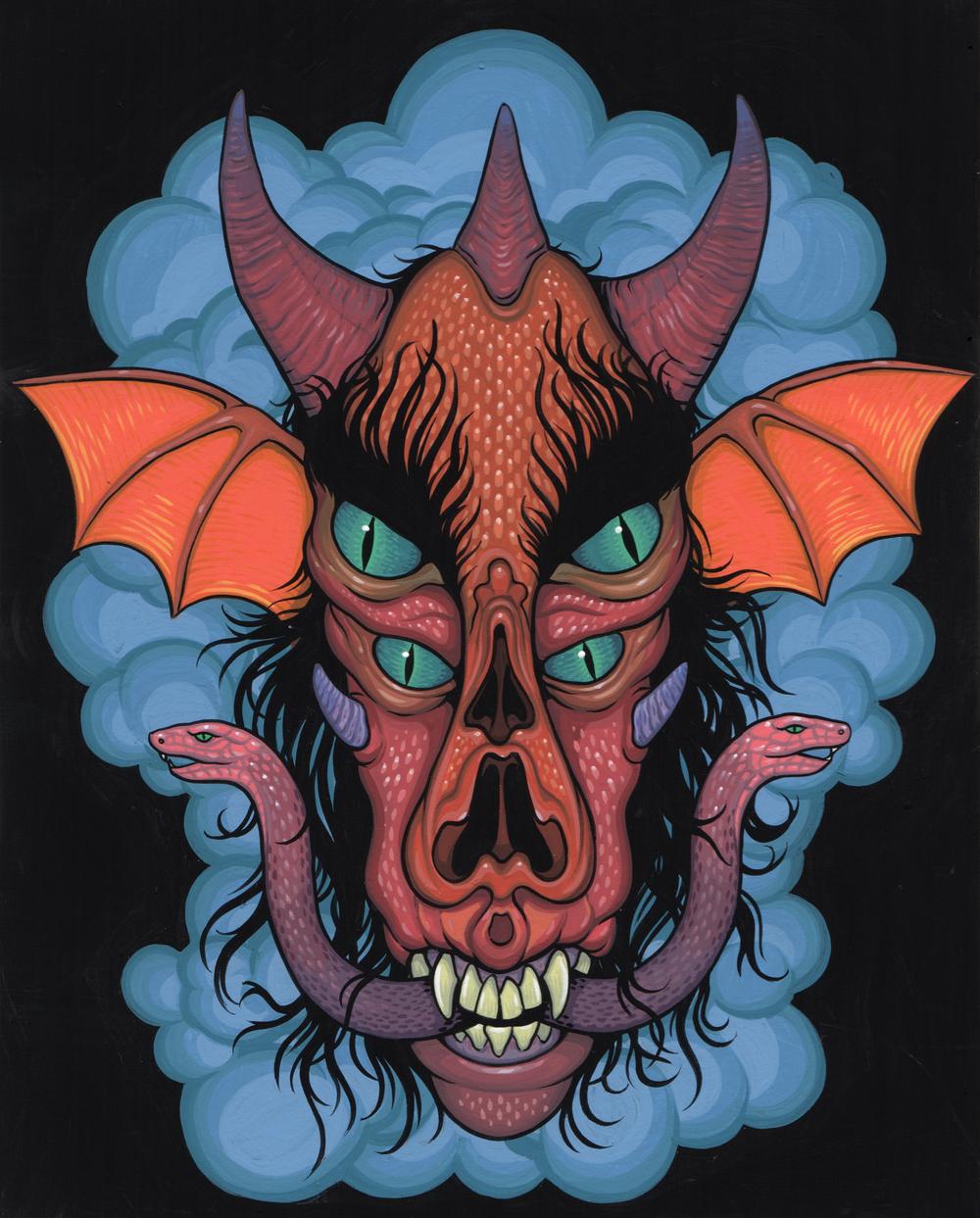 Demon Head Study 2