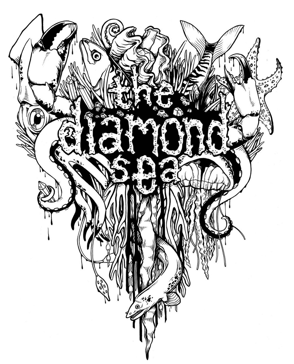 Shirt Design for the Diamond Sea 2012