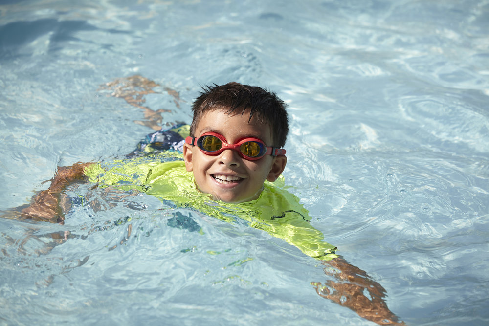 Kid Friendly Pool - Cool off in our small lap pool. Our pool is designed to help you keep your eyes on children while they play. The pool is 3.6 feet deep and 40 feet in length.