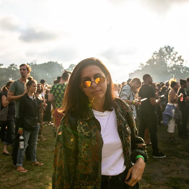 I really went wild this year with my pitchfork outfit. 📷 @kristindeitrich #sunglasses #uniform