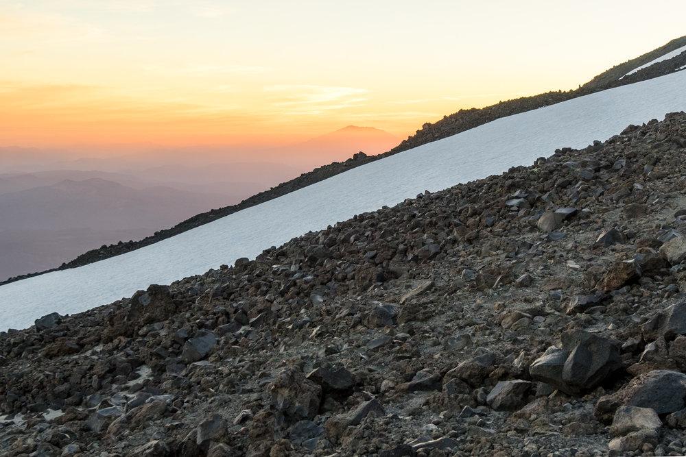 Mount Saint Helens Silhouette