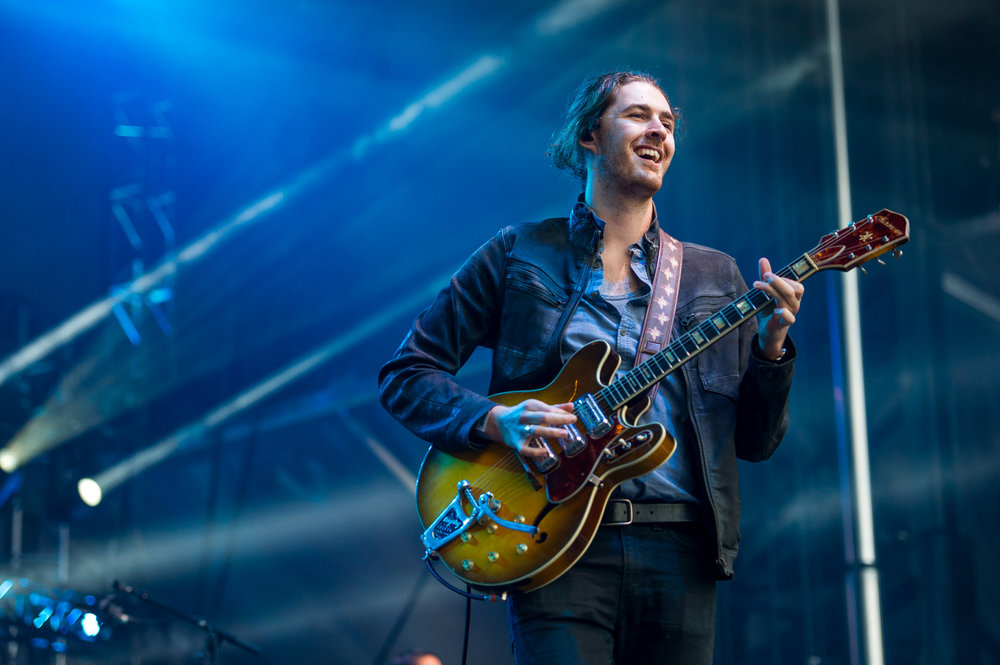 Hozier at Bumbershoot Music Festival at Seattle Center Washington 2015